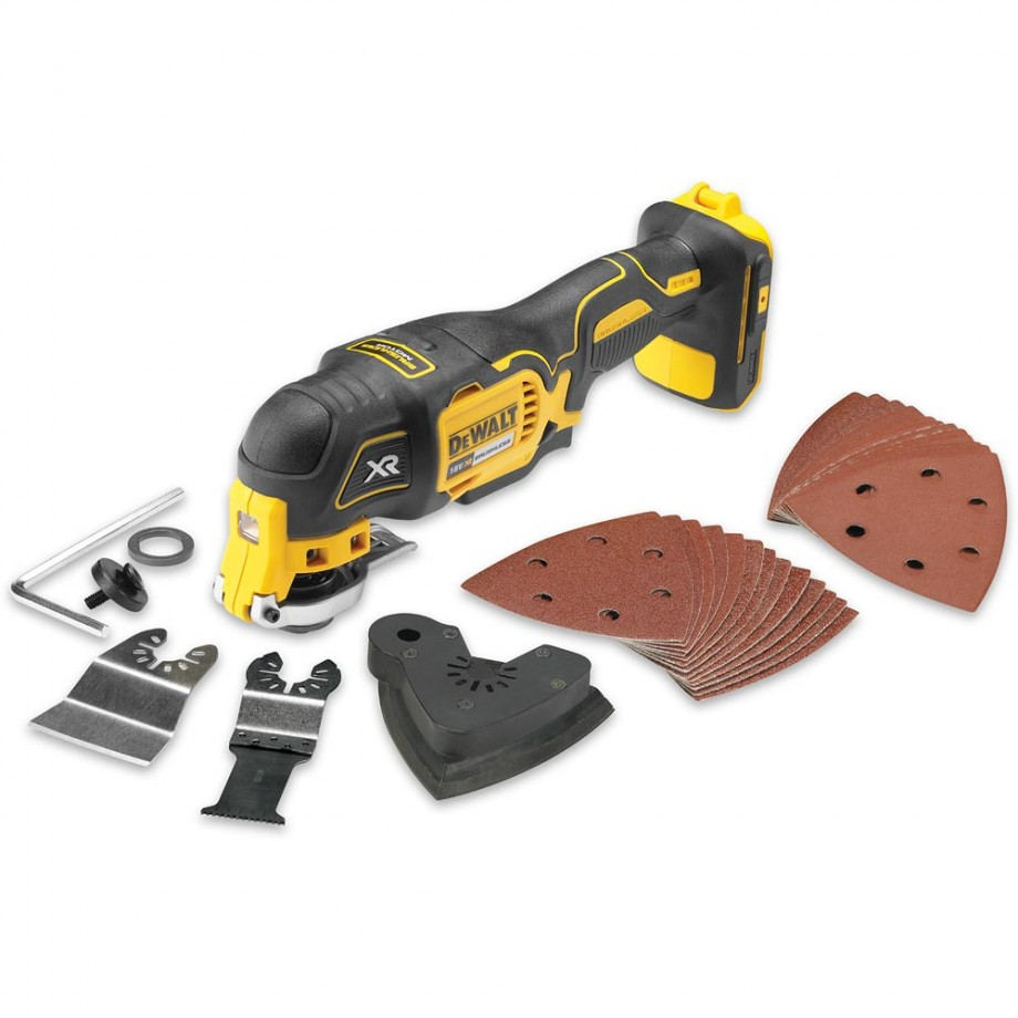 Dewalt Dcs355n Multi Tool 18v Amp 28 Accessories Body Only