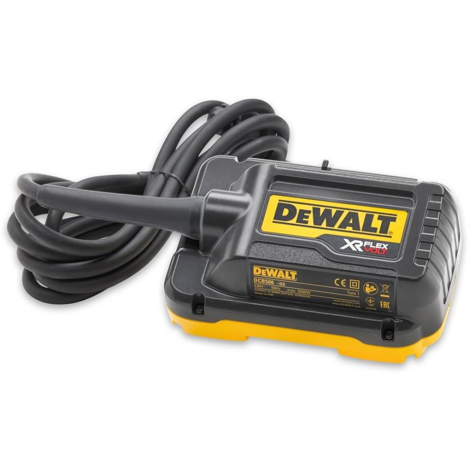 DeWALT DCB500 FLEXVOLT Mains Adaptor - 230V