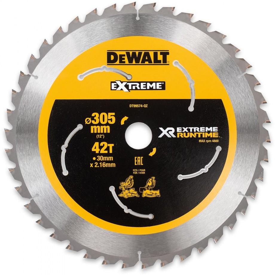 DeWALT Extreme Runtime Circular Saw Blade 305mm x 42T