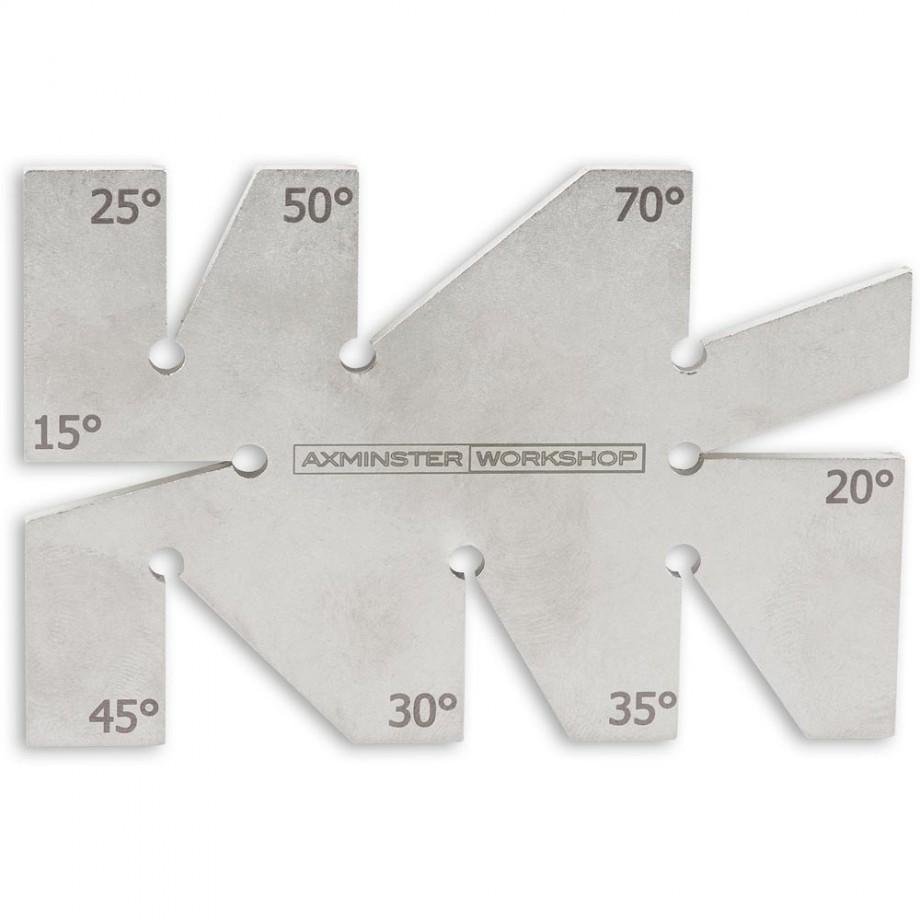 Axminster Workshop Angle Checker - Jigs - Grinding & Polishing ...