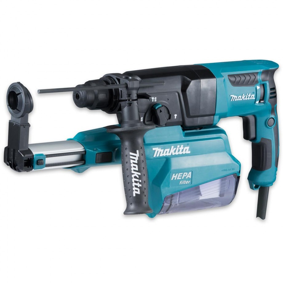 Makita HR2650 3 Function SDS+ Drill With Dust Port