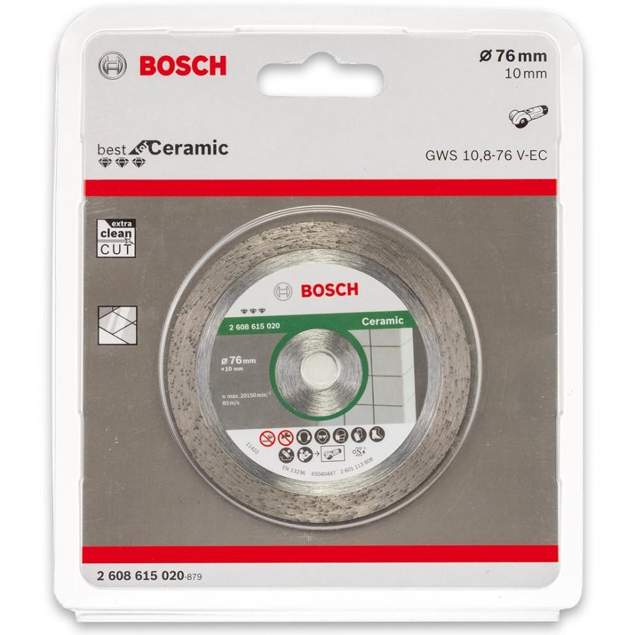 Bosch 76mm Diamond Cutting Disc For Gws 12v 76 Cutting