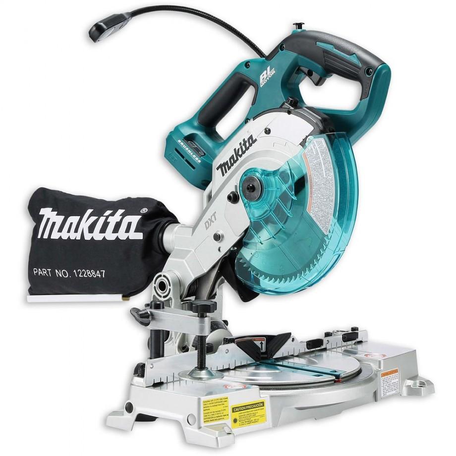 Makita DLS600Z Brushless LXT Mitre Saw 18V (Body Only) - Mitre Saws ...