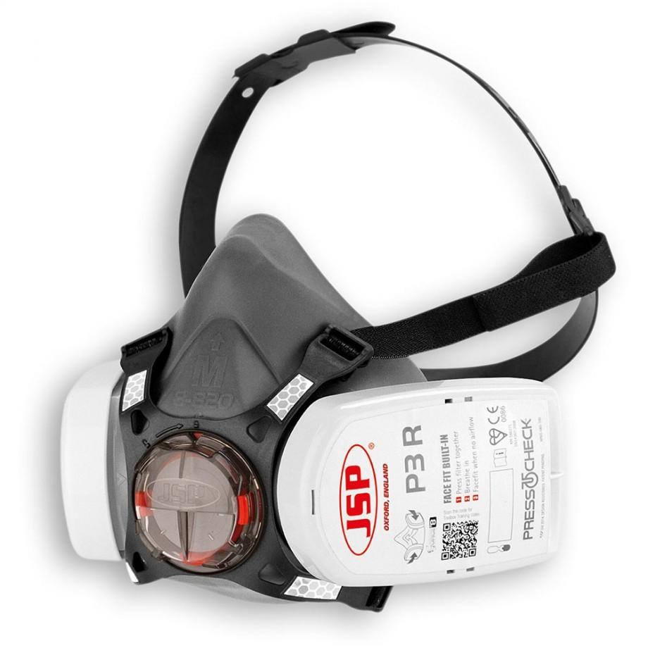 JSP Force™ 8 Reusable Half Mask Complete Medium P3