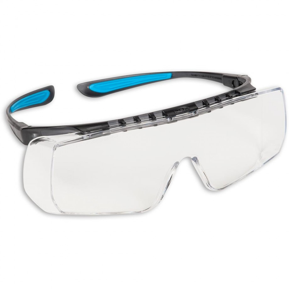 JSP Stealth Coverlite Over Spectacles Clear