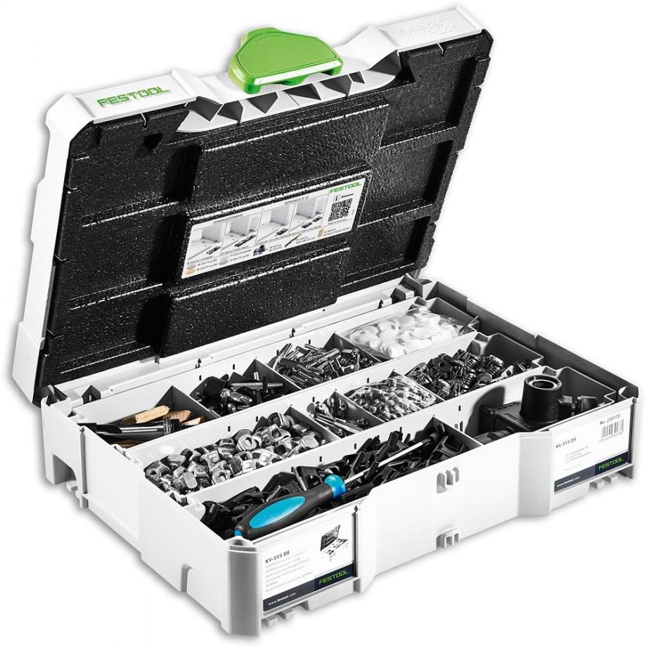 Festool DOMINO DF 500 Connector Set KV-SYS D8