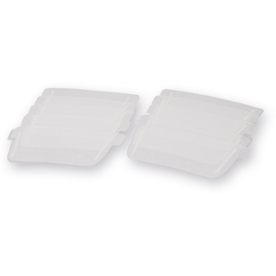 JSP PowerCap® Infinity® Polycarbonate Visor Covers (Pkt 10)