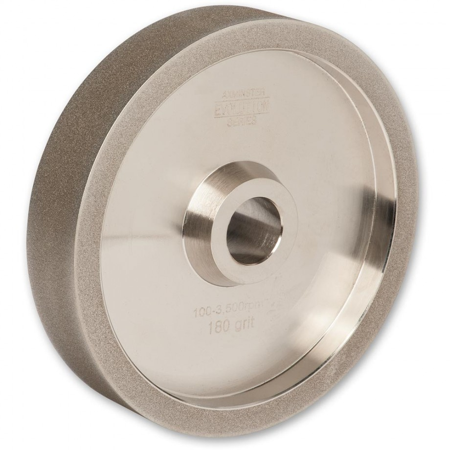 Axminster Evolution Series CBN Wheel 200 x 40mm - 180g