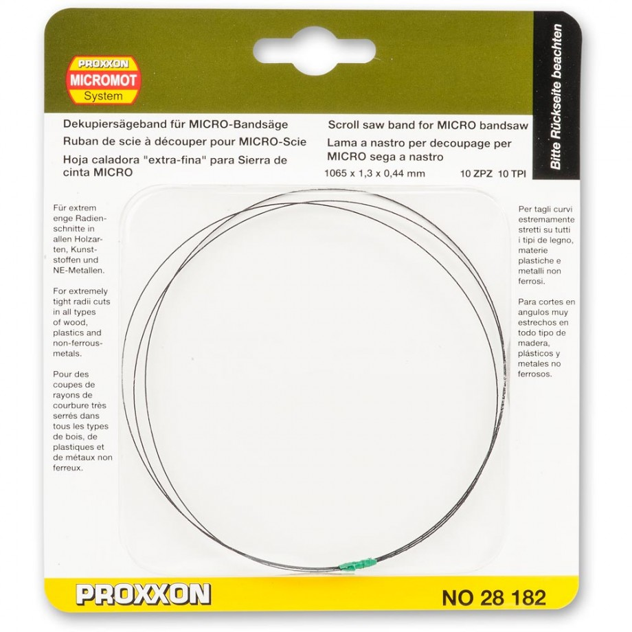 Proxxon Scroll Saw Band 1.3mm For MBS 240/E