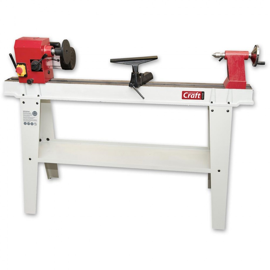 Axminster Craft AC370WL Variable Speed Woodturning Lathe
