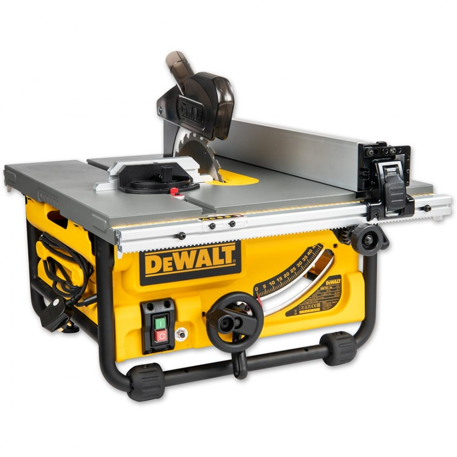 Dewalt Dw745 Portable Table Saw Table Saws Amp Saw Benches