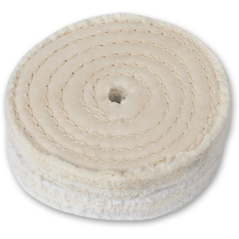 Axminster Trade Ultimate Edge Standard Stitched Polishing Mop