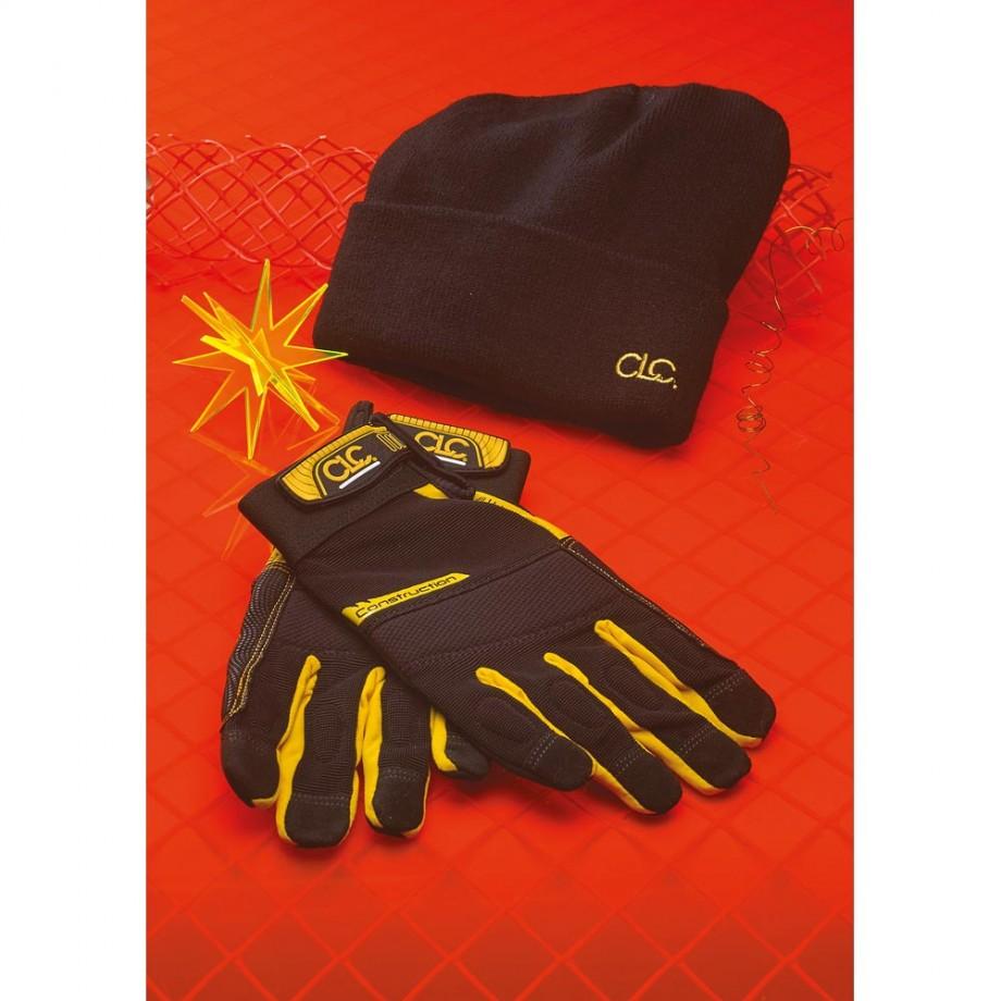 CLC FlexGrip Work Gloves & Beanie Hat