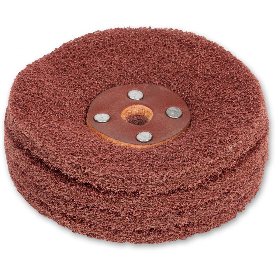 Axminster Trade Nylon Abrasive Wheel for Ultimate Edge - Medium