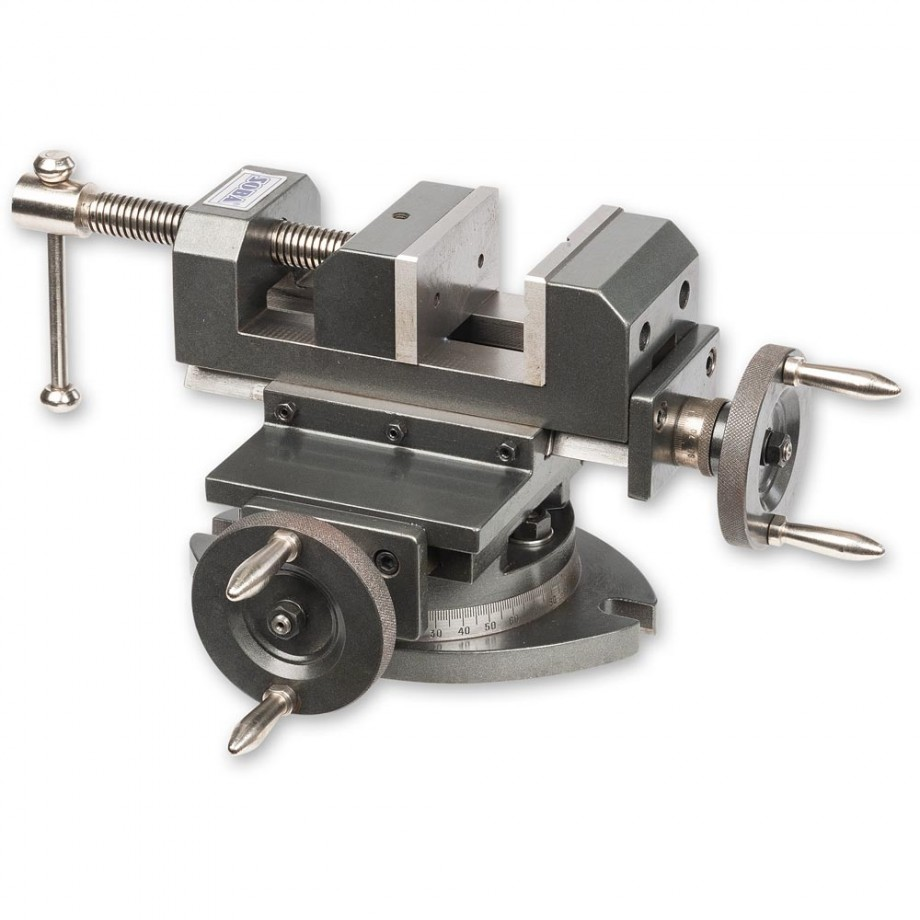 Axminster Engineer Series Precision Compound Slide Vice & Swivel Base