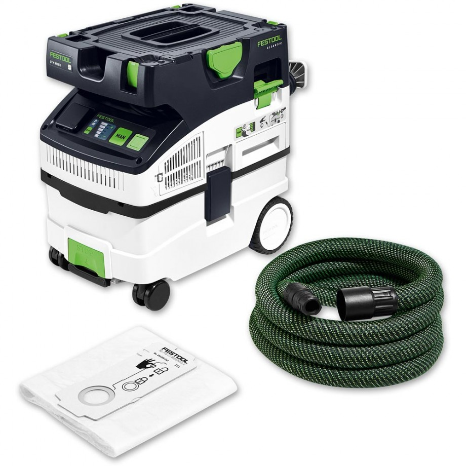 Festool CTM CLEANTEC MIDI Dust Extractor (Bluetooth)