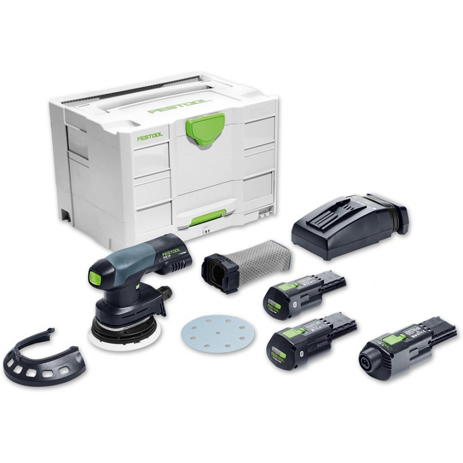 Festool ETSC 125 LI 3.1 SET Sander Bluetooth 18V/230V