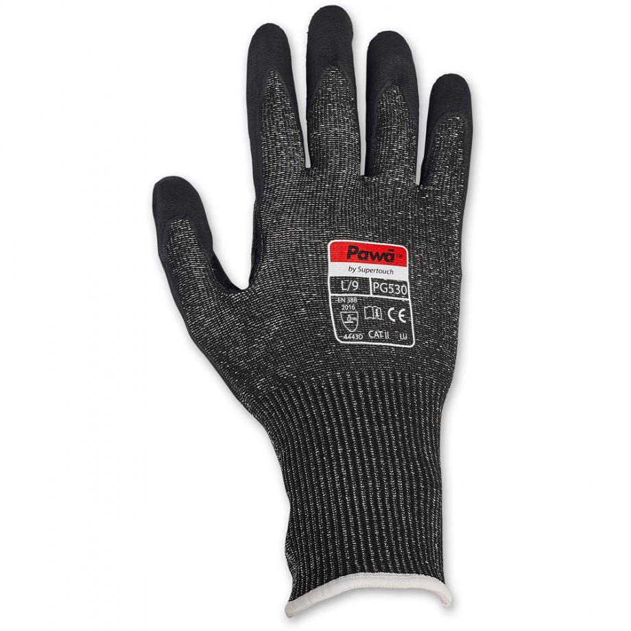 Supertouch Pawa PG530 Cut Resistant Durable Nitrile Work Gloves