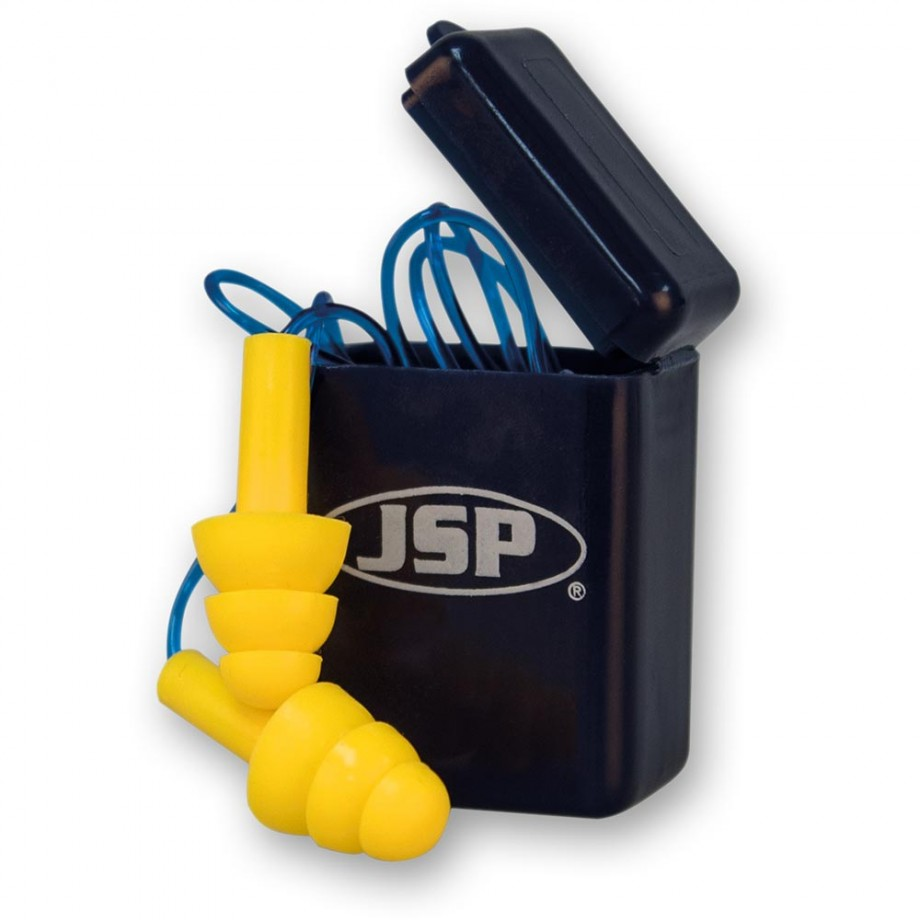 JSP Maxifit™ Pro Ear Plugs With Cord In Case
