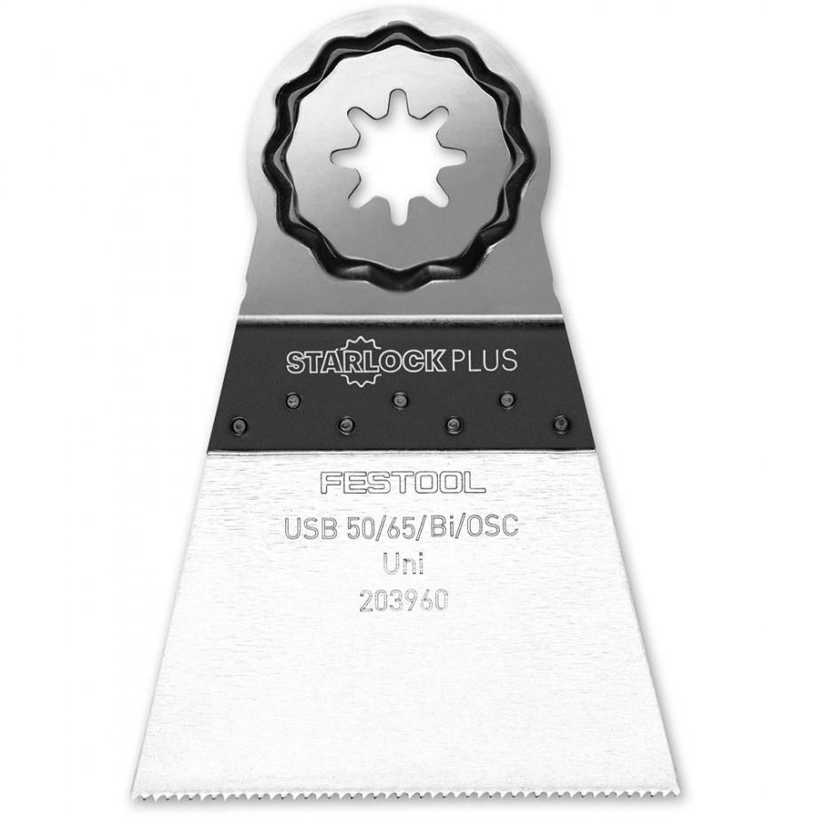 Festool 65mm Universal Bi-Metal Multi-Tool Blades (Pkt 5)