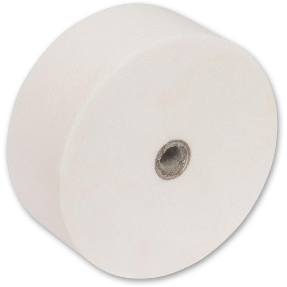 Axminster Craft White Grinding Wheel 125mm x 50mm
