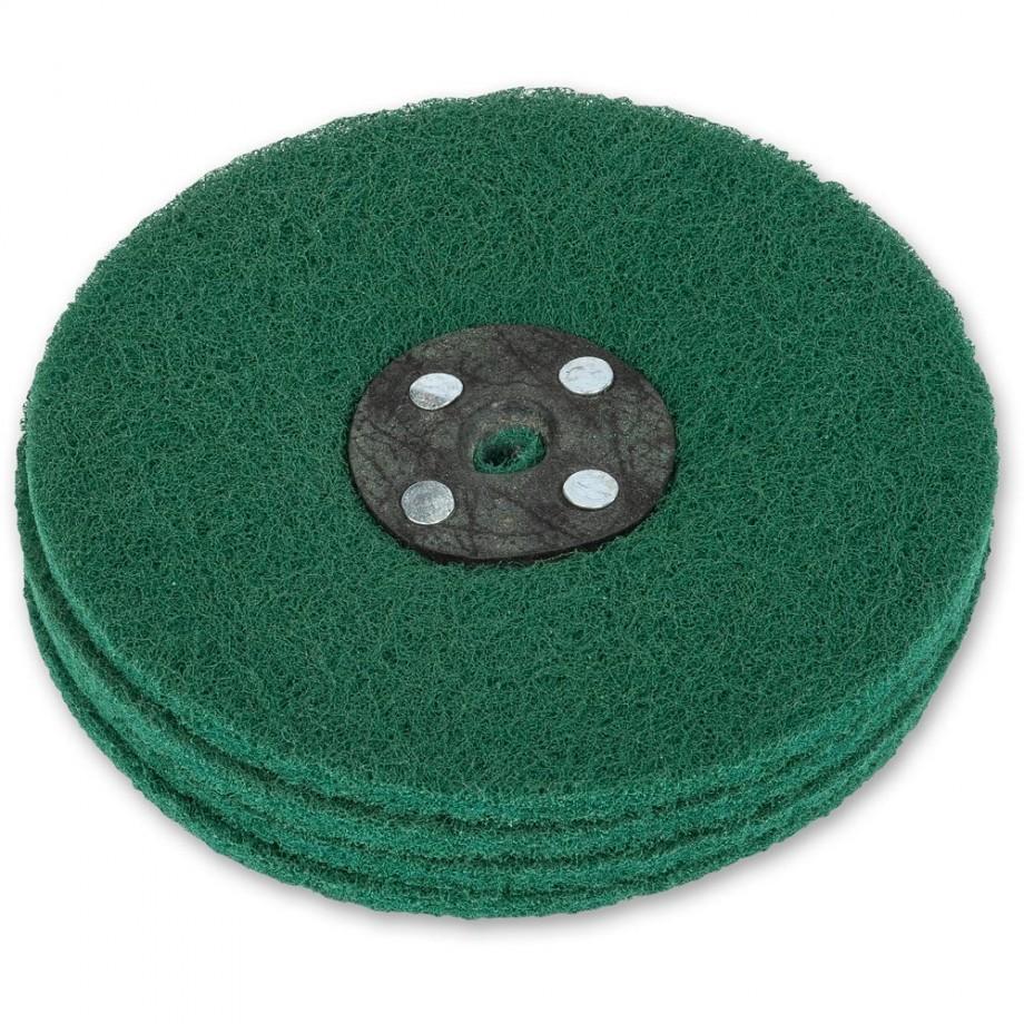 Axminster Craft 150mm Nylon Abrasive Wheel Plain Bore - Fine