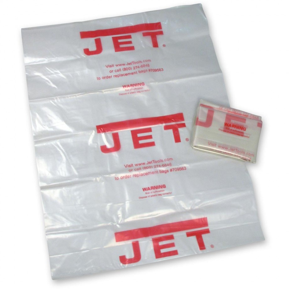 Jet Clear Plastic Bag For Jet Cyclone Canister