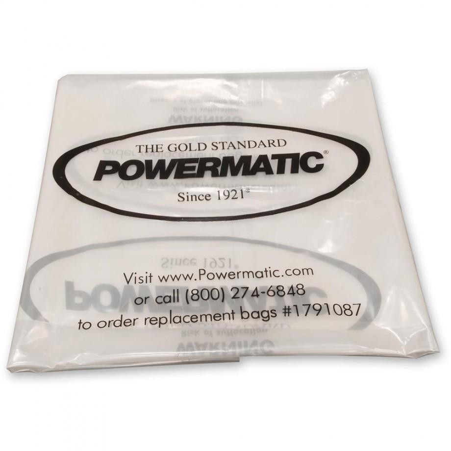 Powermatic PMCPB-2 Clear Waste Sacks (Pkt 5)