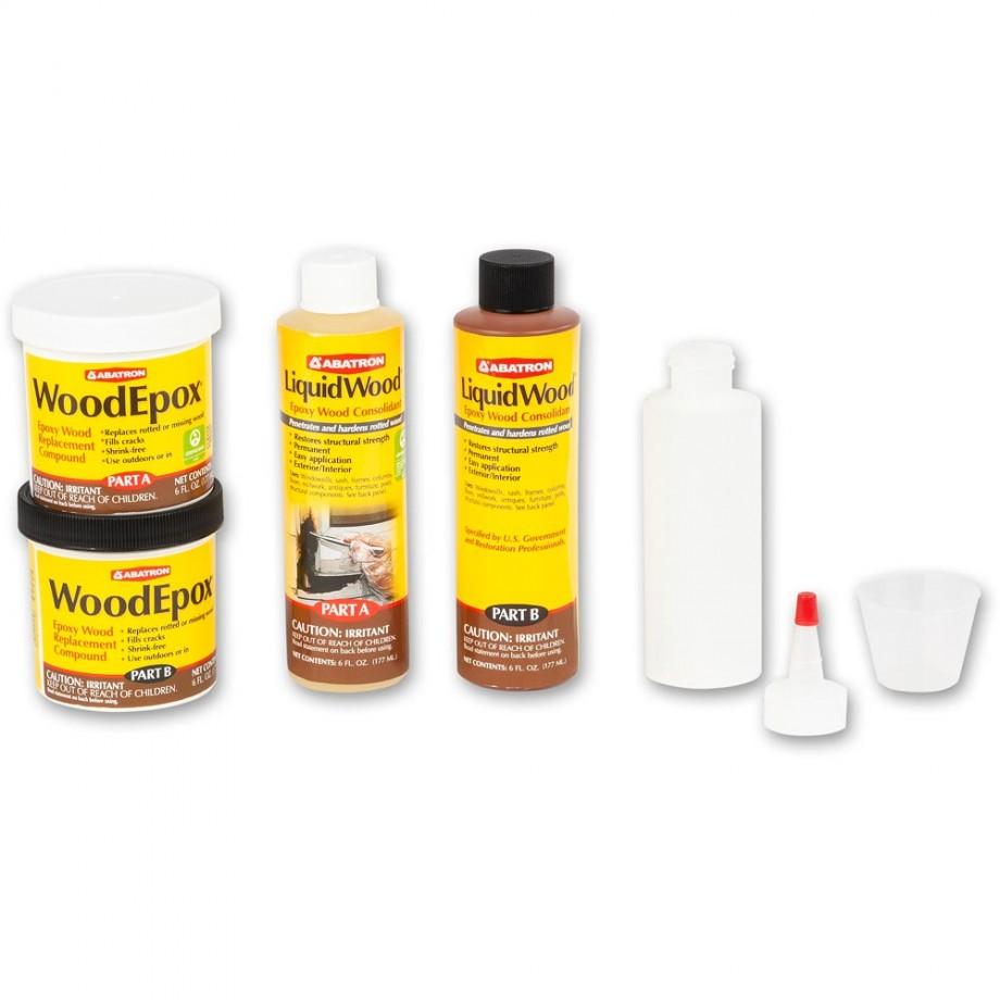 Abatron Wood Restoration Kit - 24oz