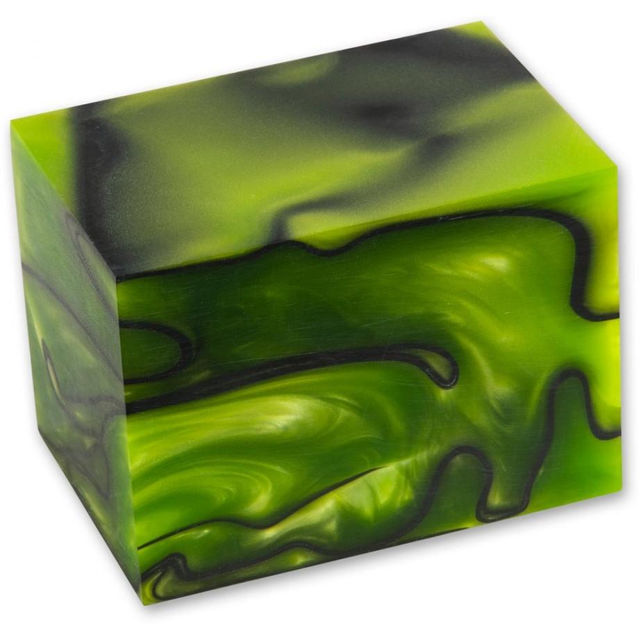 Craftprokits Toxic Green Acrylic Kirinite Project Blank