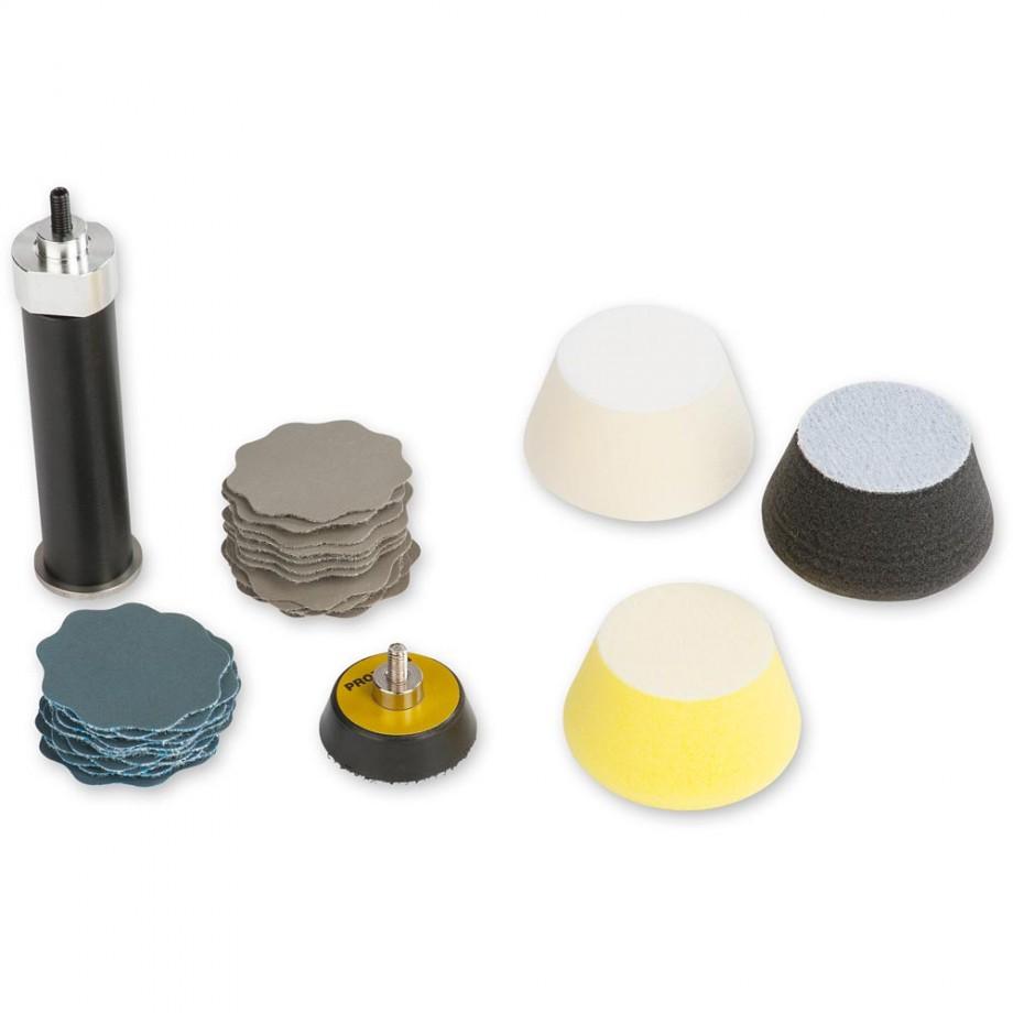 Proxxon Set for Finish Grinding & Polishing