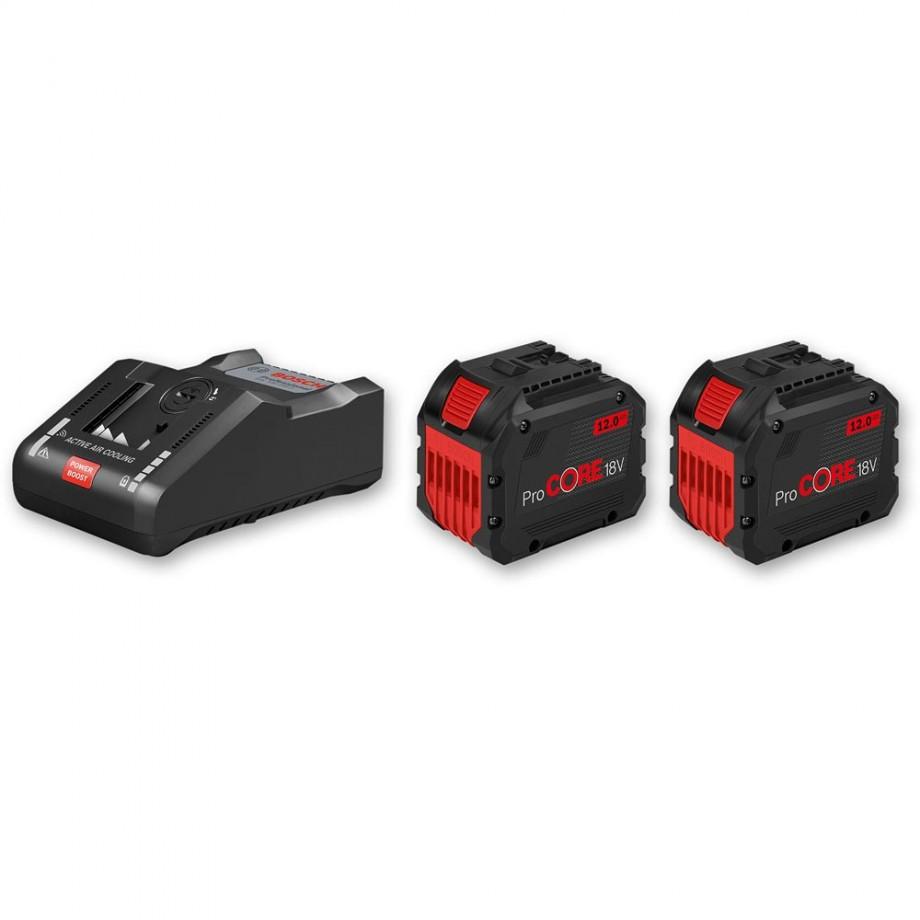 Bosch ProCore Li-Ion Batteries & Charger 18V (12.0Ah)