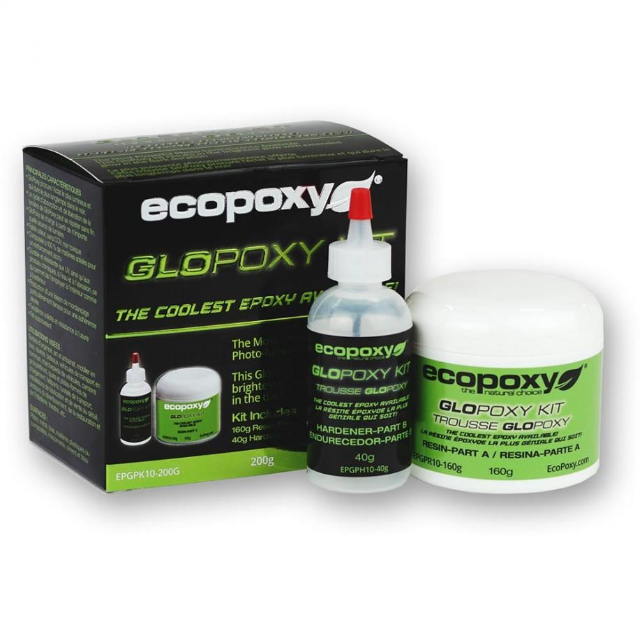 EcoPoxy GloPoxy Kit Green 200g