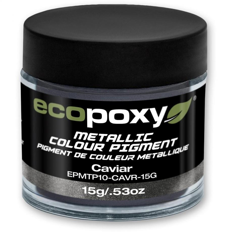 EcoPoxy Metallic Colour Pigment - Caviar 15g