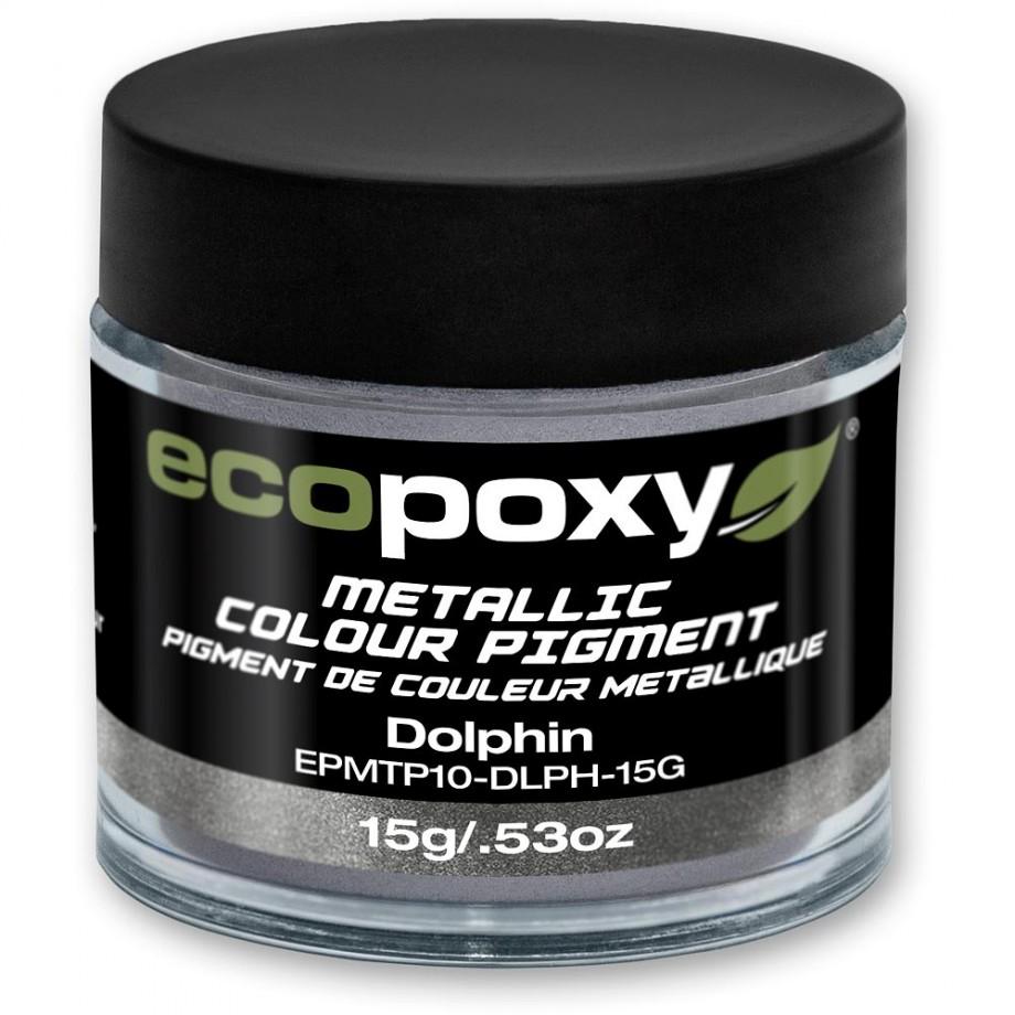 EcoPoxy Metallic Colour Pigment - Dolphin 15g