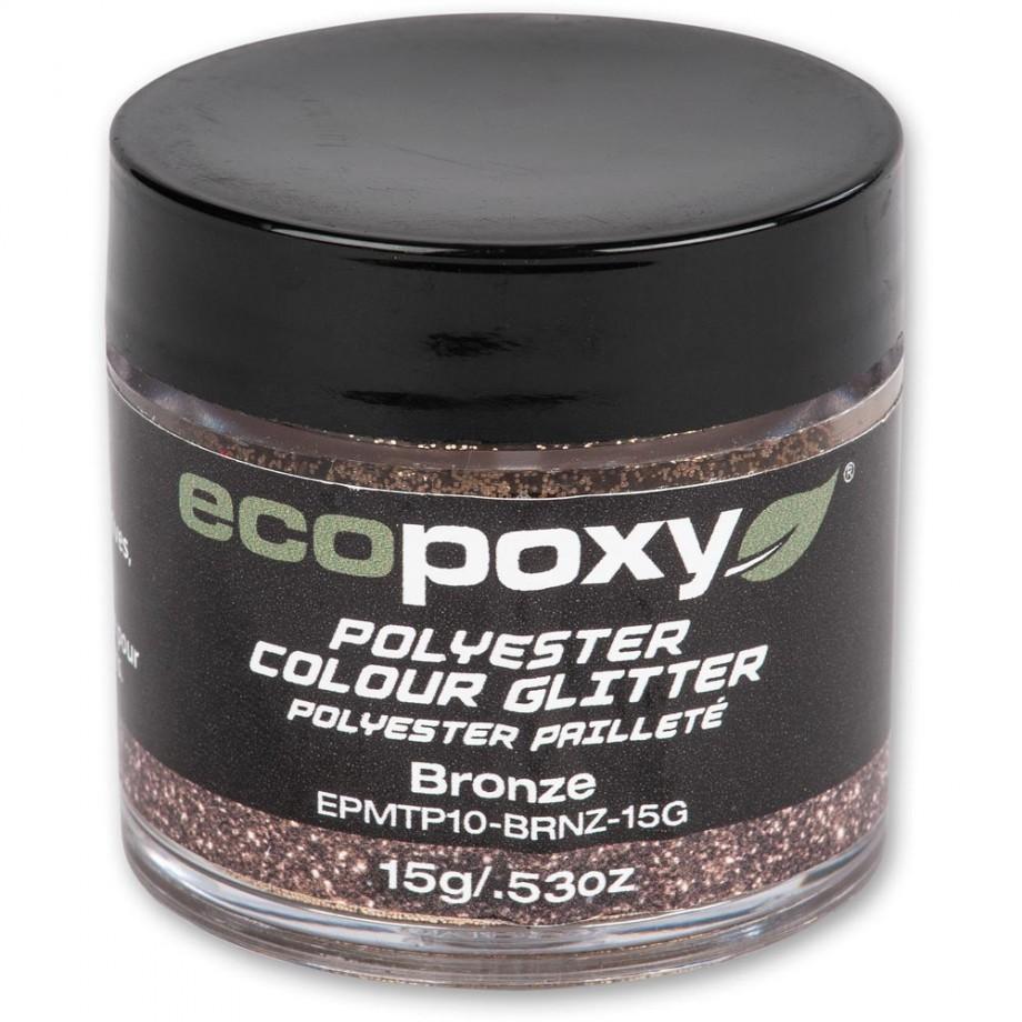 EcoPoxy Colour Glitter - Bronze 15g