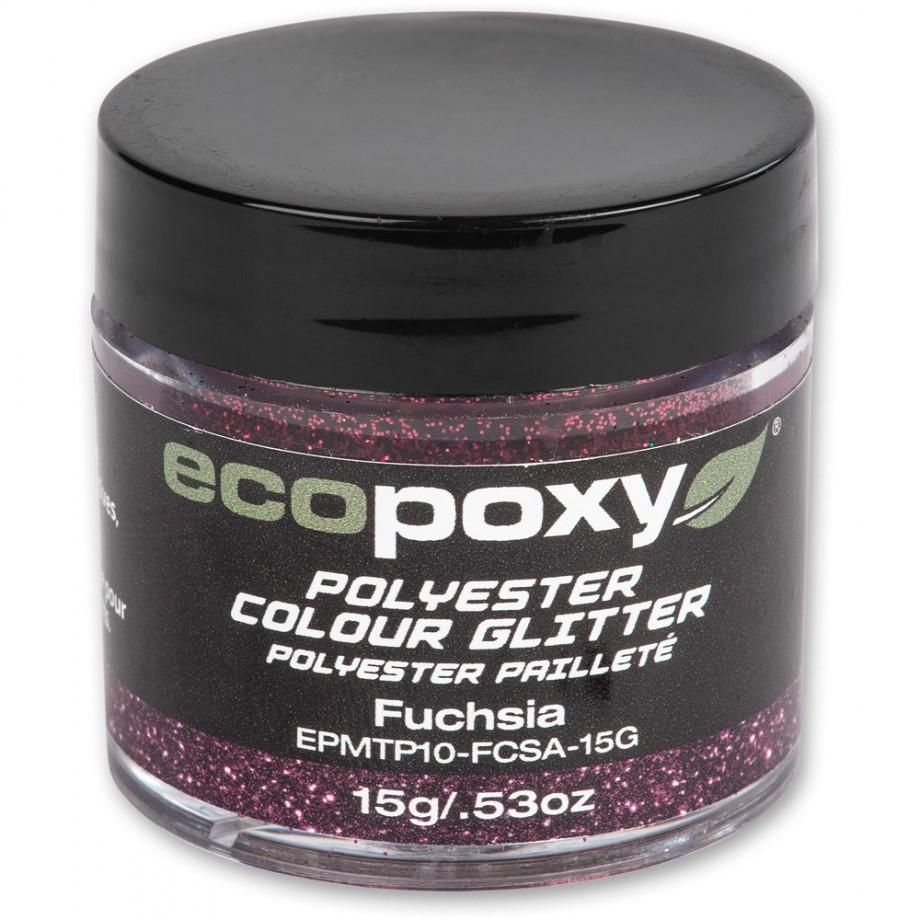 EcoPoxy Colour Glitter - Fuchsia 15g