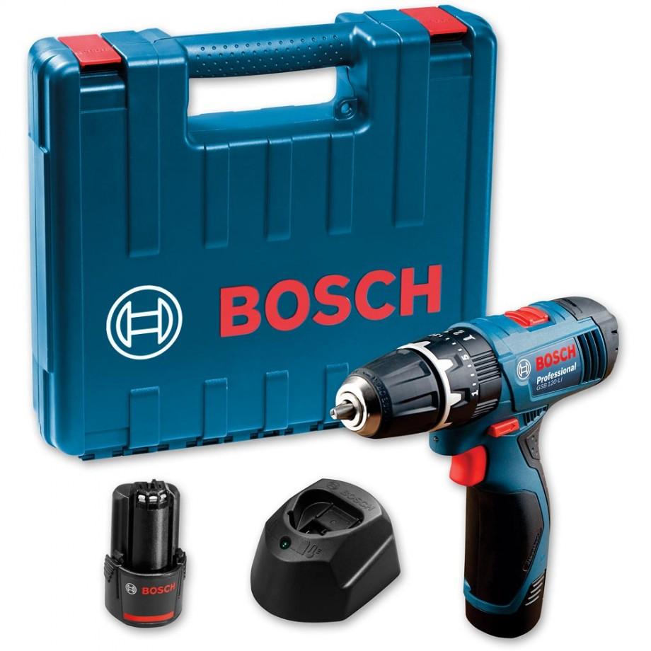 Bosch GSB120-Li Combi Drill 12V (2 x 1.5Ah)