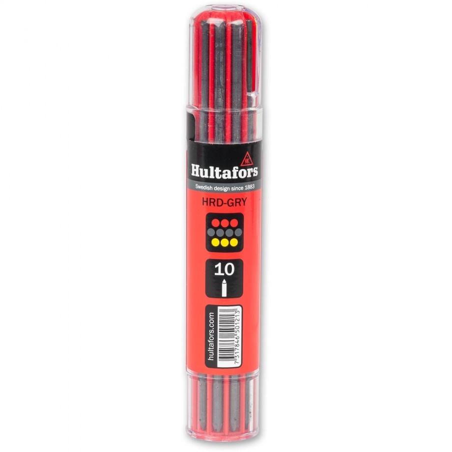 Hultafors Dry Marker Refill - Grey, Red, Yellow