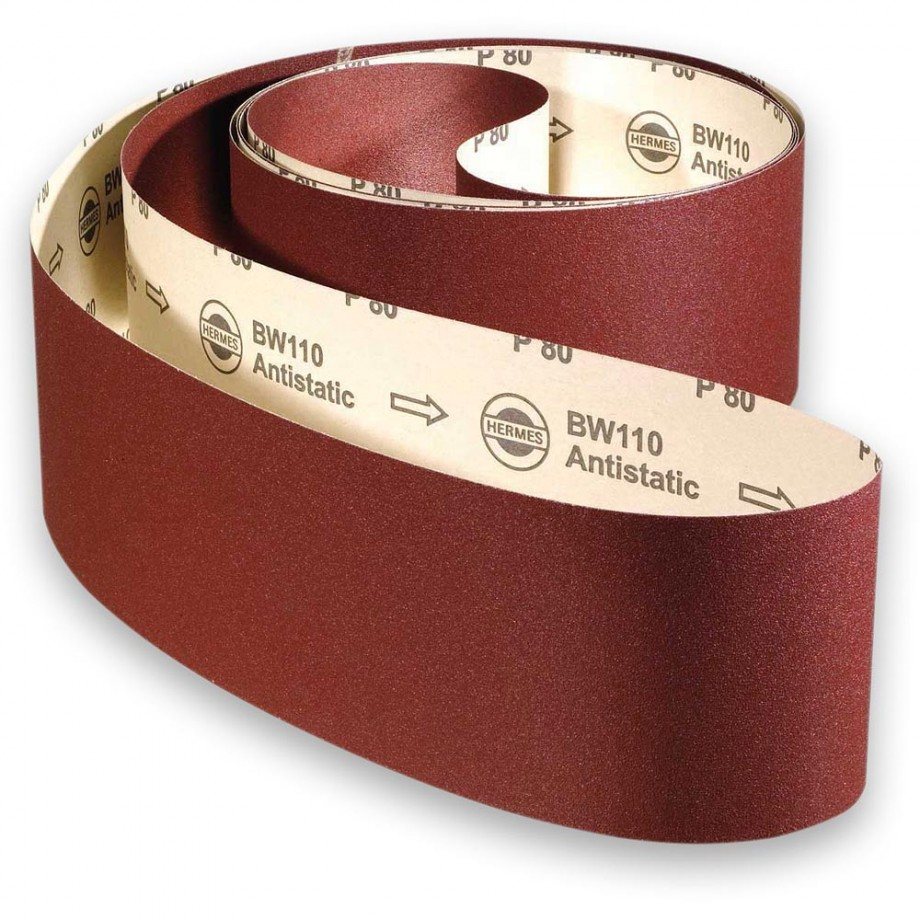 Hermes Abrasive Belt 150 x 2,250mm x 100 Grit
