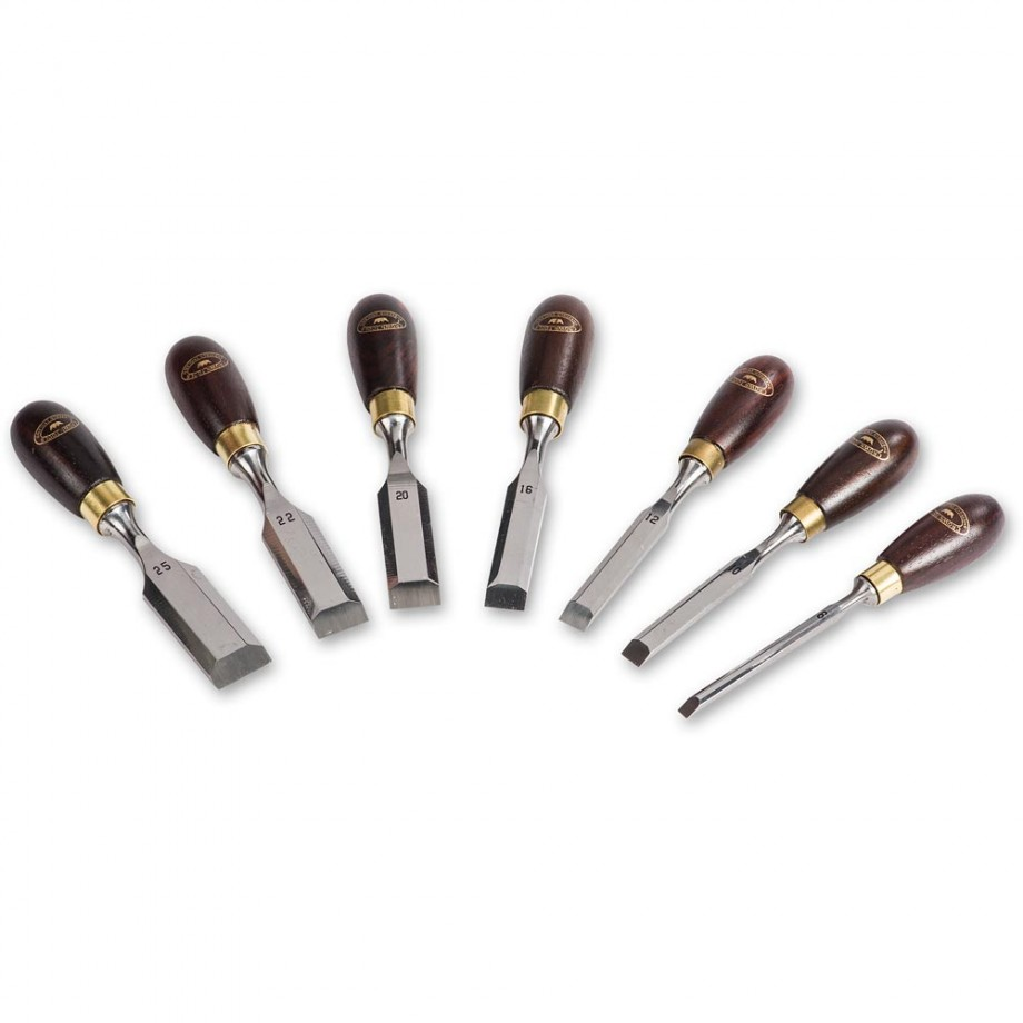 Crown Butt Chisels - Set of 7