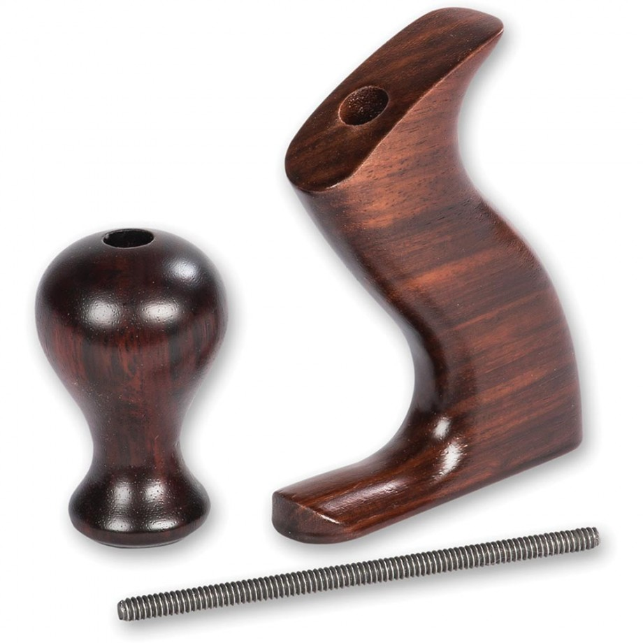 Rosewood Plane Handle Set