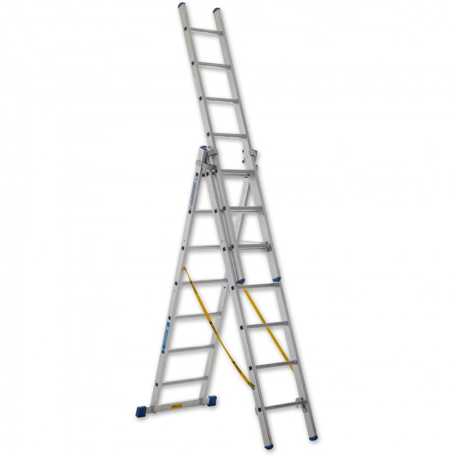 Zarges Trade 3-Part Skymaster Ladder