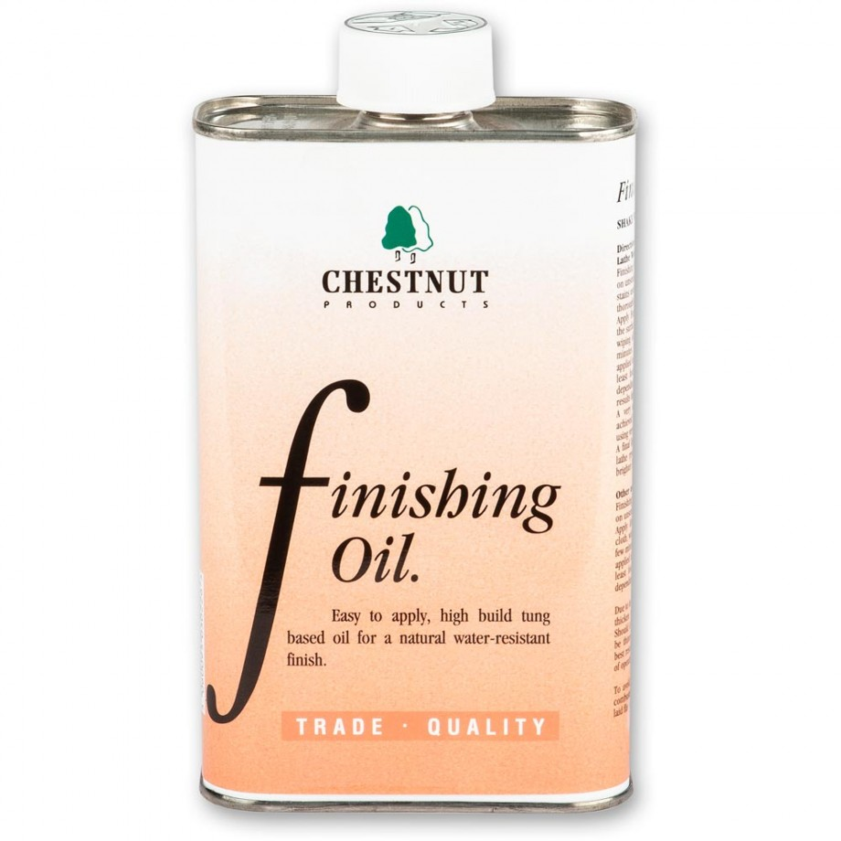 Chestnut Finishing Oil - 500ml