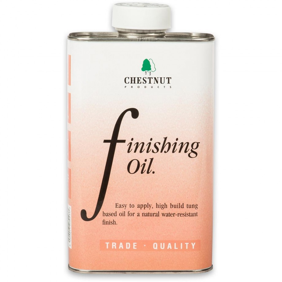 Chestnut Finishing Oil - 1 litre