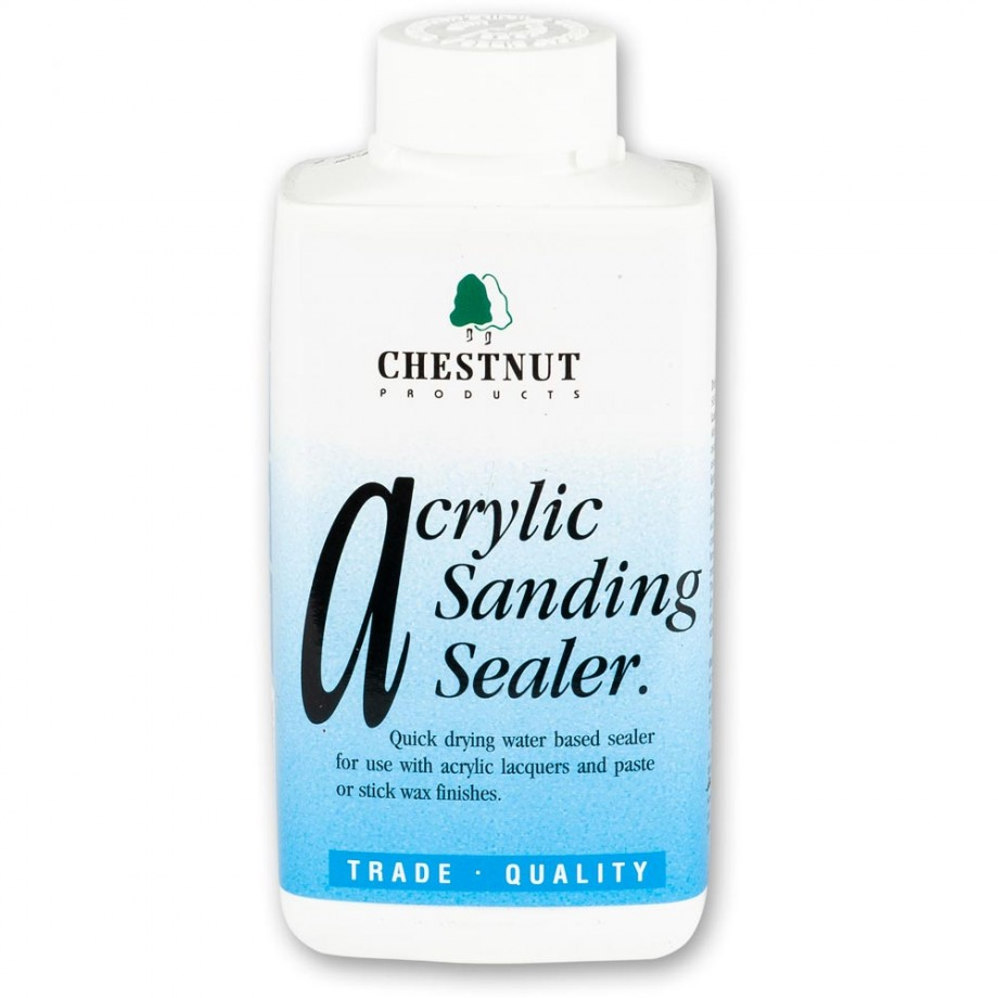 Chestnut Acrylic Sanding Sealer - Bottle 500ml