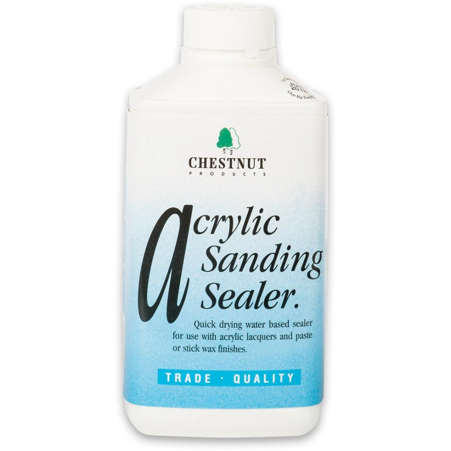 Chestnut Acrylic Sanding Sealer - Bottle 1 litre