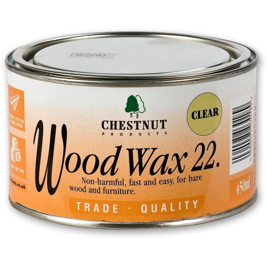 Chestnut Woodwax Clear - 450ml
