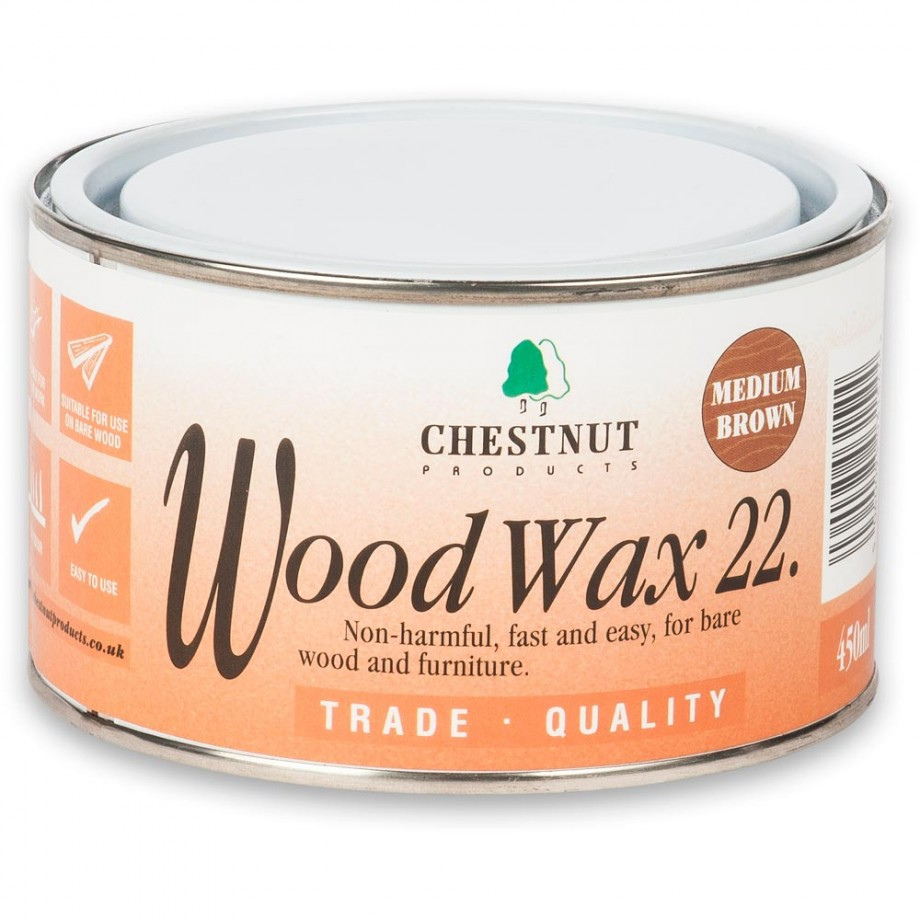 Chestnut Woodwax Medium Brown - 450ml