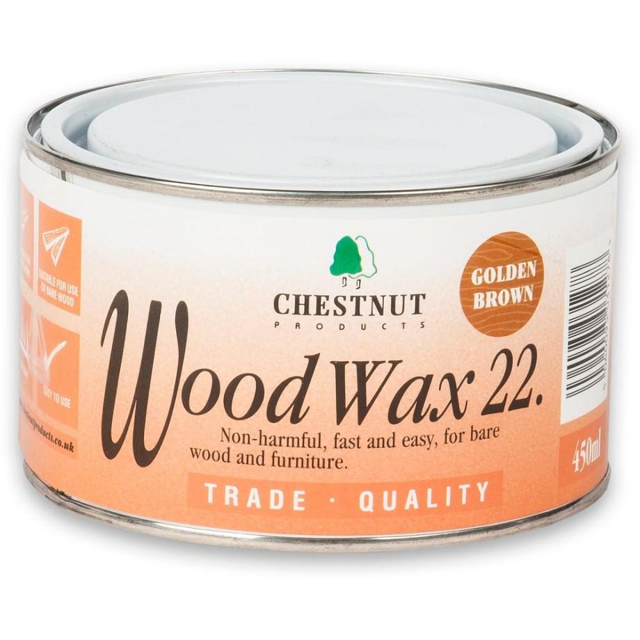 Chestnut Woodwax Golden Brown - 450ml